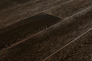 Массивная доска Дуб Мокко Браш Лак 18х120х300-1800 мм